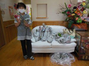 岩倉さん支援物資野菜