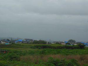 雨の益城町南側②