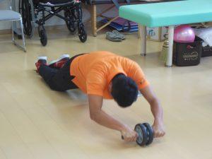 片岡腹筋運動