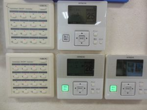 冷暖房設備コントロール盤
